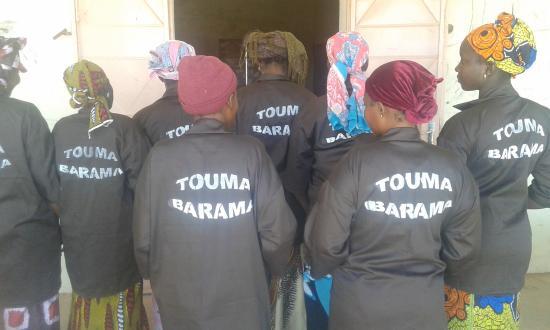 Opleiding bouw eco-toiletten in Bandiagara Mali